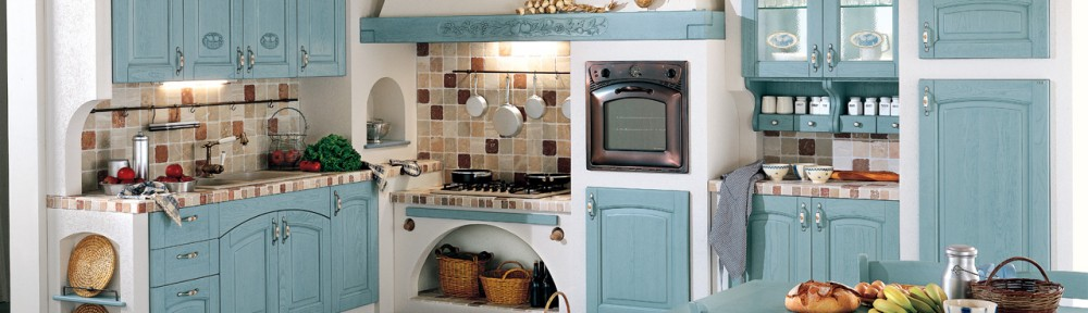 Le cucine in muratura