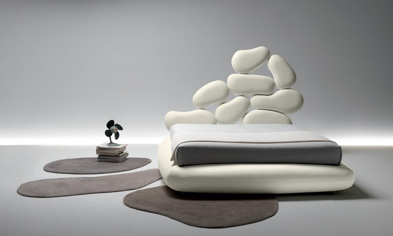 Stones il letto diverso per la vostra camera da letto for Camera matrimoniale design
