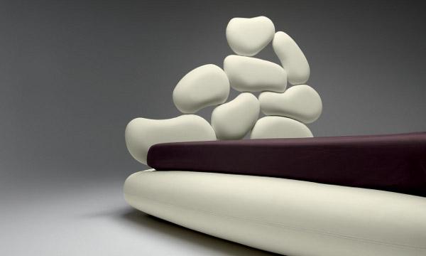 """Stones, il letto """"diverso"""" per la vostra camera da letto."""
