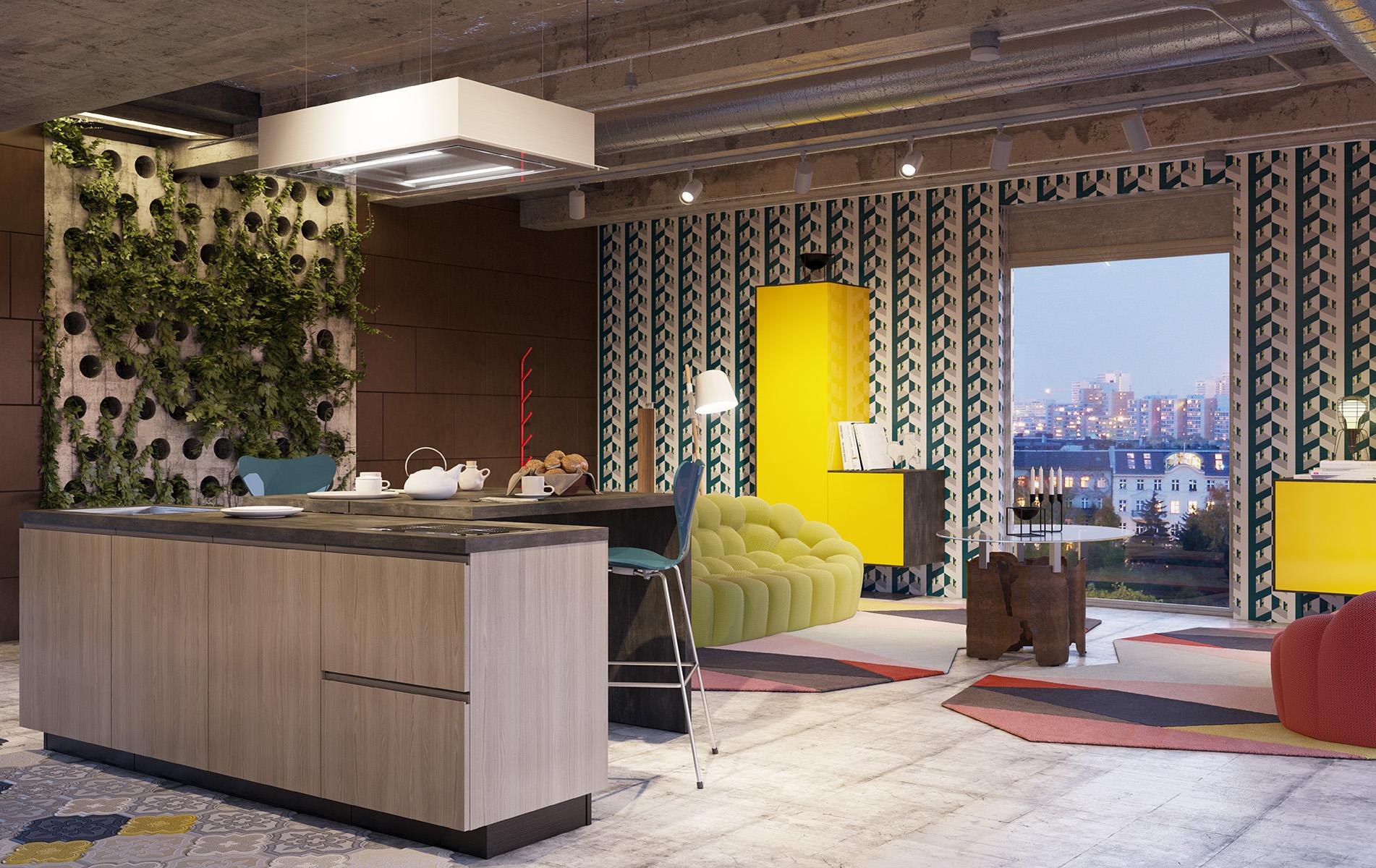 Amalfi Full, la nuova cucina firmata Del Tongo
