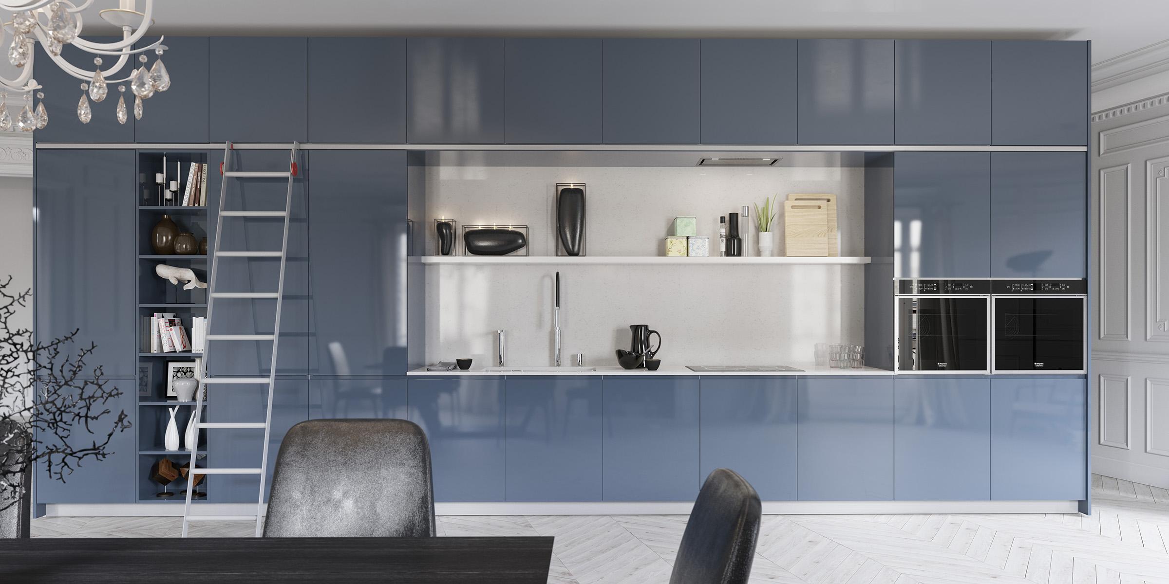 Amalfi Full, la nuova cucina firmata Del Tongo - Abita design