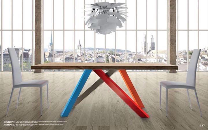 Materia: il tavolo che Arreda
