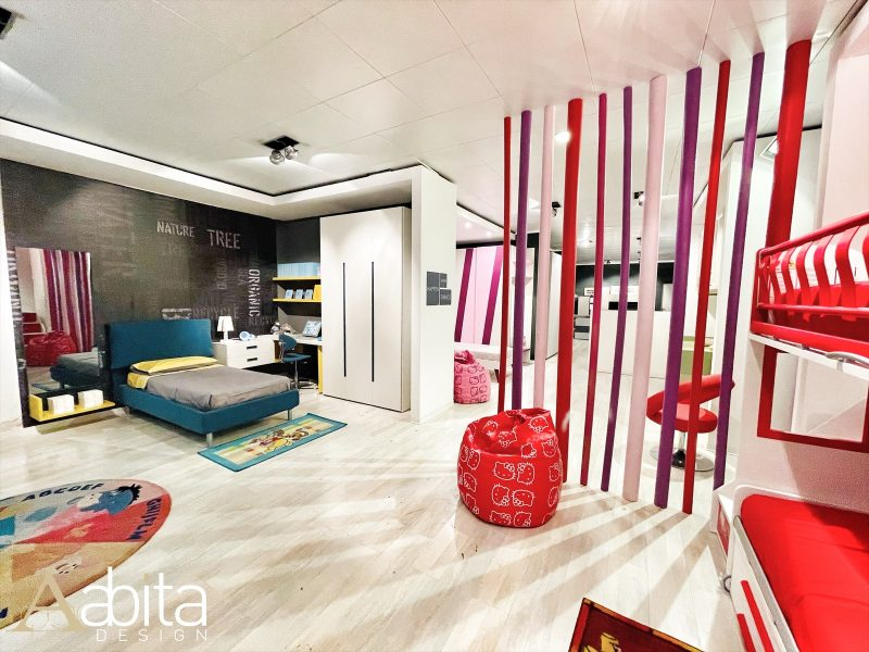Il nuovo centro Camerette Moretti Compact